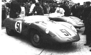 1957- 2 Barquettes avant depart du Mans