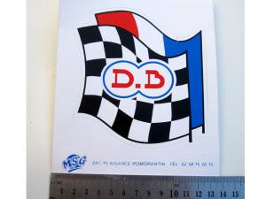 autocollant drapeaux Db