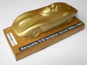 Barquette DB tentative record 200Km 1954